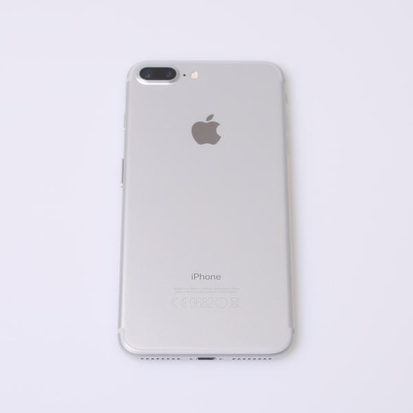 Komplettes Gehäuse für iPhone 7 Plus A1784 in Silber Grade B Front