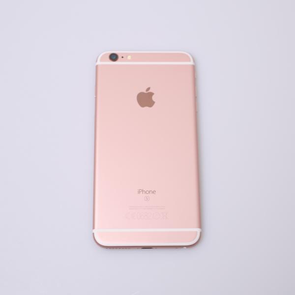 Komplettes Gehäuse für iPhone 6S Plus A1687 in Roségold Grade C Front