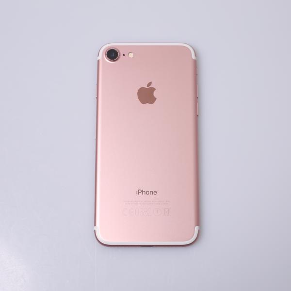Komplettes Gehäuse für iPhone 7 A1778 in Roségold Grade B Front
