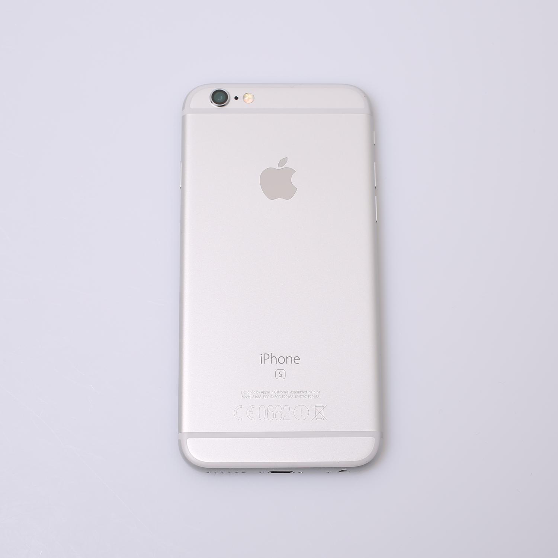 Komplettes Gehäuse für iPhone 6S A1688 in Silber Grade B