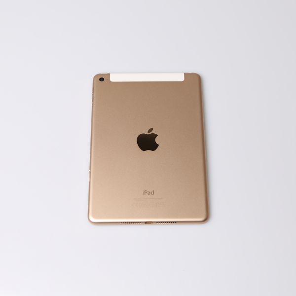 Komplettes Gehäuse für iPad Mini 4 A1550 WiFi + Cellular in Gold Grade A Front