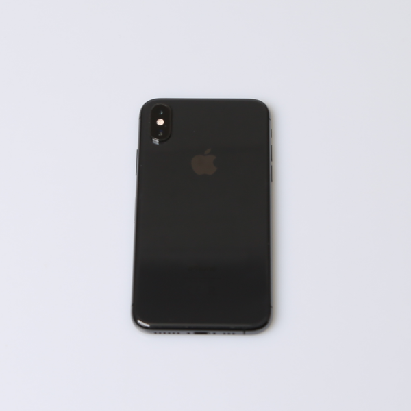 Komplettes Gehäuse für iPhone XS A2097 in Spacegrau Grade B Front