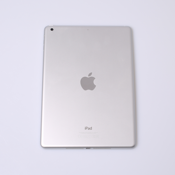 Komplettes Gehäuse für iPad Air A1474 WiFi in Silber Grade B Front