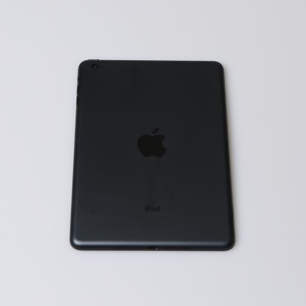 Komplettes Gehäuse für iPad Mini 1 A1432 WiFi in Schwarz Graphit Grade B Front