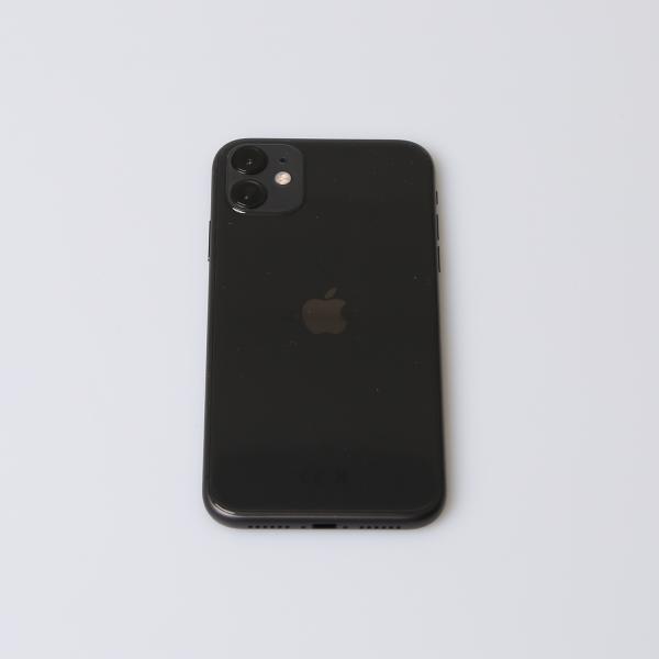 Komplettes Gehäuse für iPhone 11 A2221 in Schwarz Grade A Front