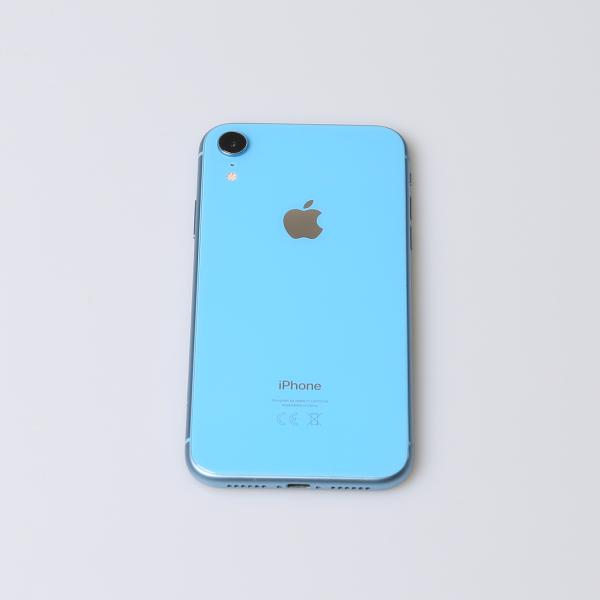 Komplettes Gehäuse für iPhone XR A2105 in Blau Grade A Front