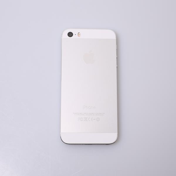 Komplettes Gehäuse für iPhone 5S A1457 in Silber Grade C Front