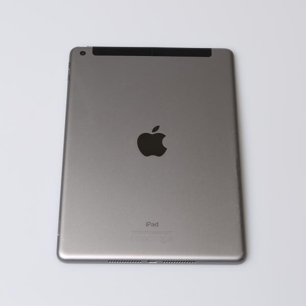 Komplettes Gehäuse für iPad 5 A1823 WiFi + Cellular in Spacegrau Grade C Front