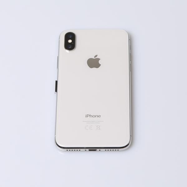 Komplettes Gehäuse für iPhone X A1901 in Silber Grade C Front