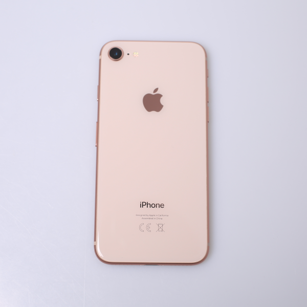 Komplettes Gehäuse für iPhone 8 A1905 in Gold Grade A Front