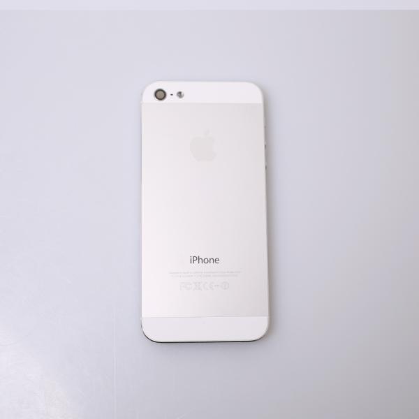 Komplettes Gehäuse für iPhone 5 A1429 in Weiss Silber Grade C Front