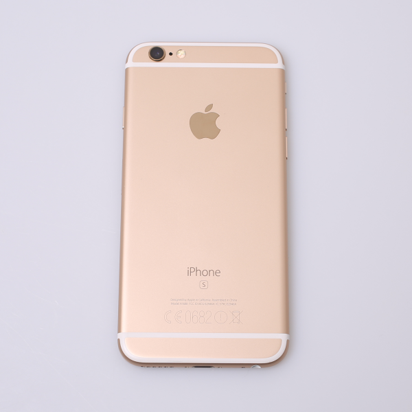 Komplettes Gehäuse für iPhone 6S A1688 in Gold Grade A Front