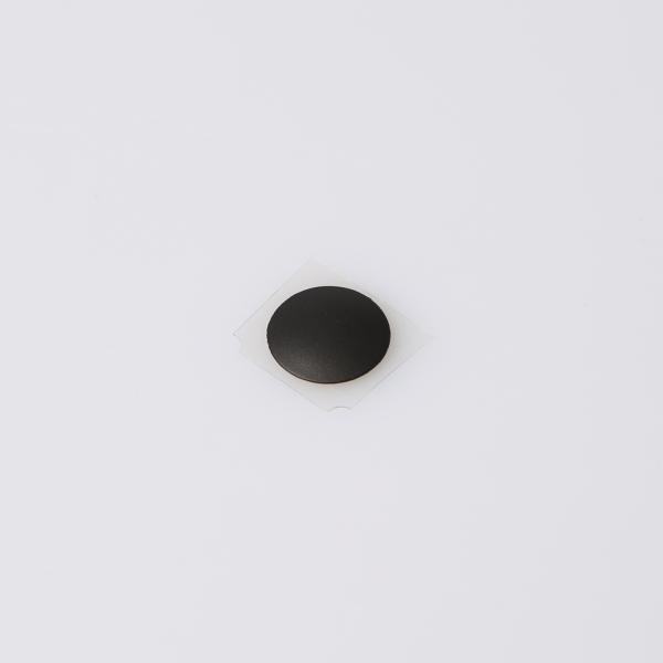 Schwarzer Gummifuß für MacBook Retina 12 Zoll A1534 2015 - 2017 Front