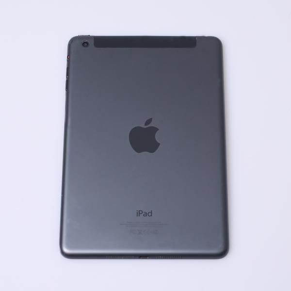 Komplettes Gehäuse für iPad Mini 1 A1455 WiFi + Cellular in Schwarz Graphit Grade B Front