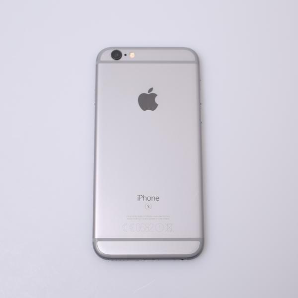 Komplettes Gehäuse für iPhone 6S A1688 in Spacegrau Grade A Front