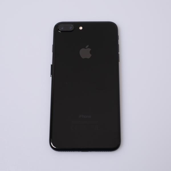 Komplettes Gehäuse für iPhone 7 Plus A1784 in Diamantschwarz Grade C Back