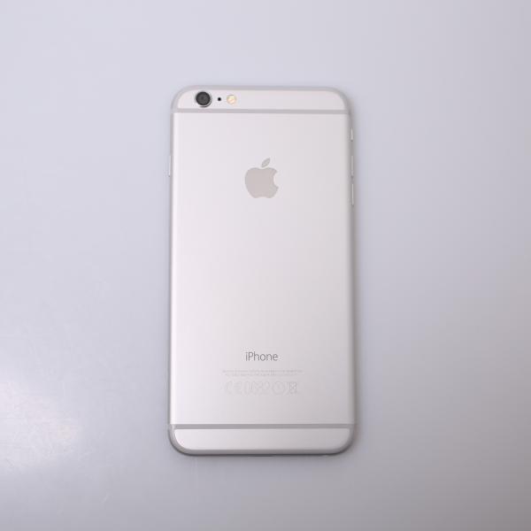 Komplettes Gehäuse für iPhone 6 Plus A1524 in Silber Grade A Front