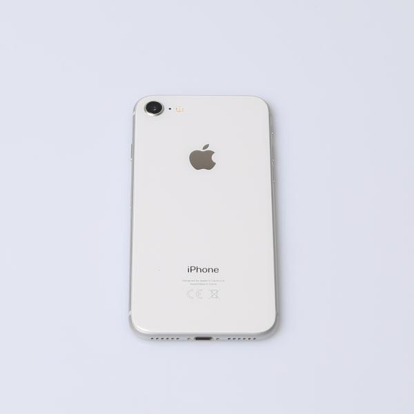 Komplettes Gehäuse für iPhone 8 A1905 in Silber Grade A Front