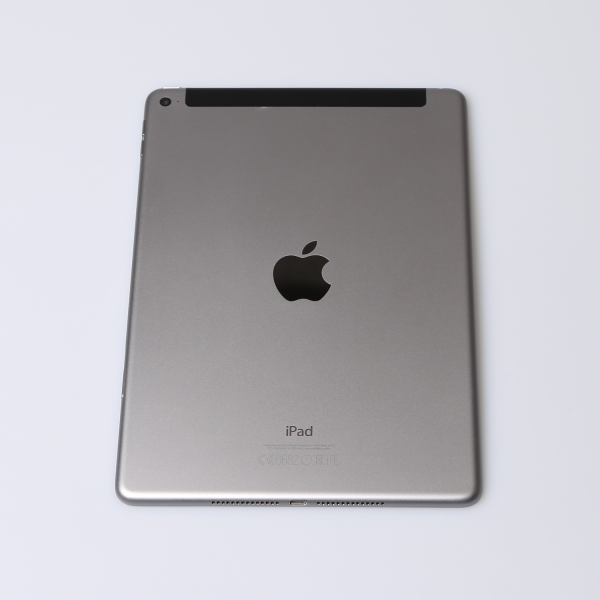 Komplettes Gehäuse für iPad Air 2 A1567 WiF + Cellular in Spacegrau Grade A Front