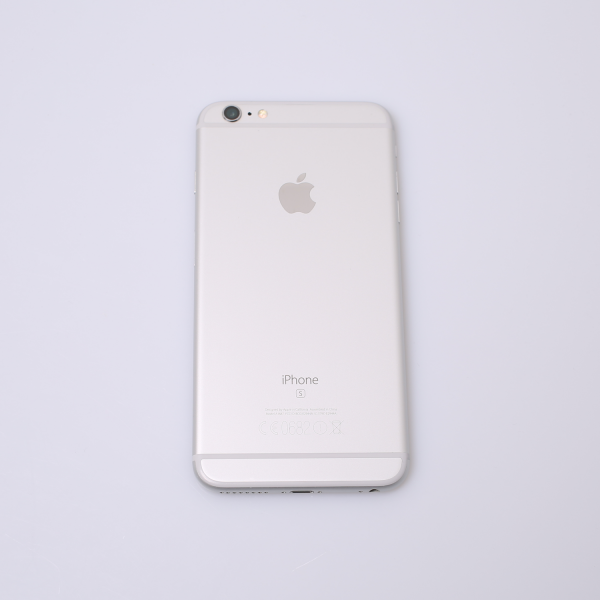 Komplettes Gehäuse für iPhone 6S Plus A1687 in Silber Grade C Front