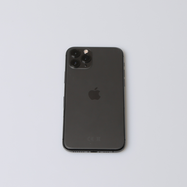 Komplettes Gehäuse für iPhone 11 Pro A2215 in Spacegrau Grade A Front