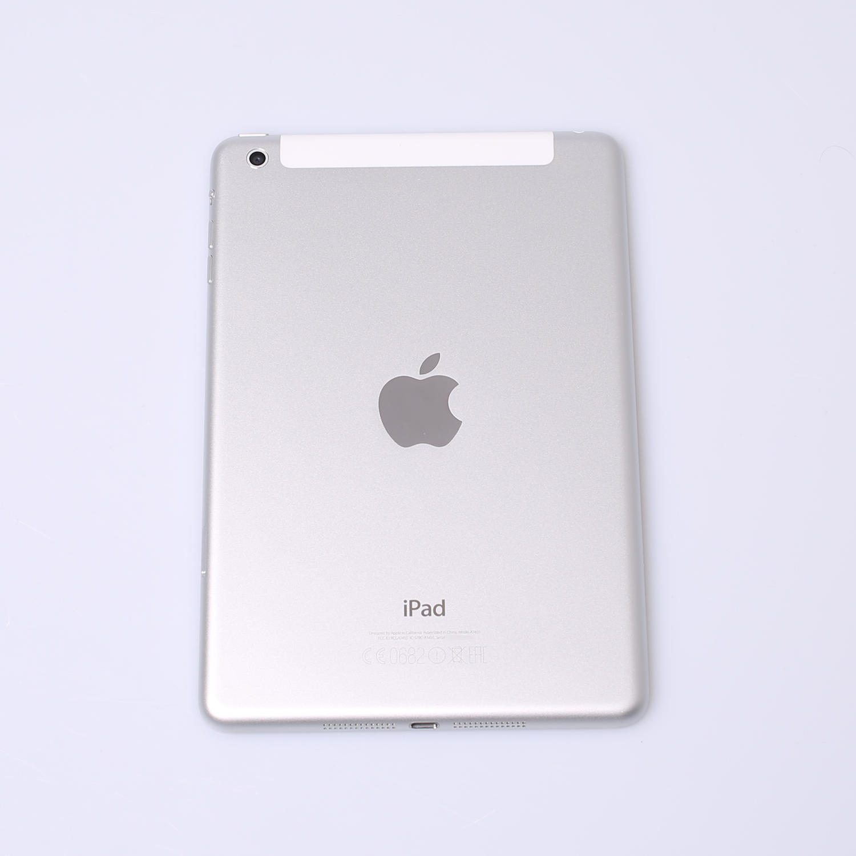 Tidsmæssigt Komplettes Gehäuse für iPad Mini 1 A1455 WiFi + Cellular in Silber DW-72