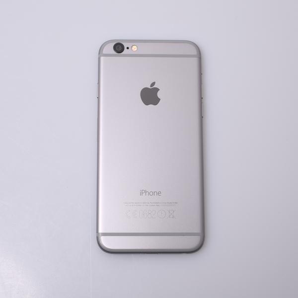 Komplettes Gehäuse für iPhone 6 A1586 in Spacegrau Grade B Front