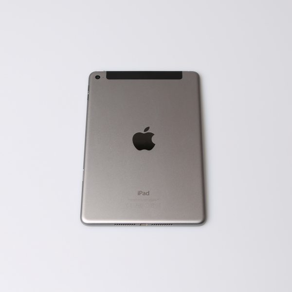 Komplettes Gehäuse für iPad Mini 4 A1550 WiFi + Cellular in Spacegrau Grade B Front