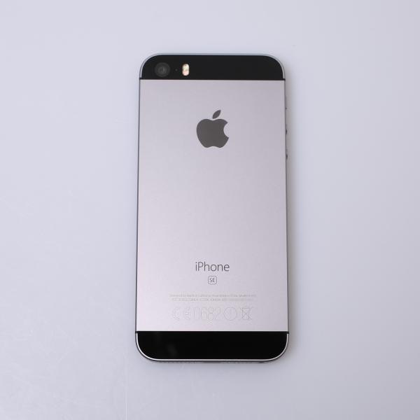Komplettes Gehäuse für iPhone SE A1723 in Spacegrau Grade B Front