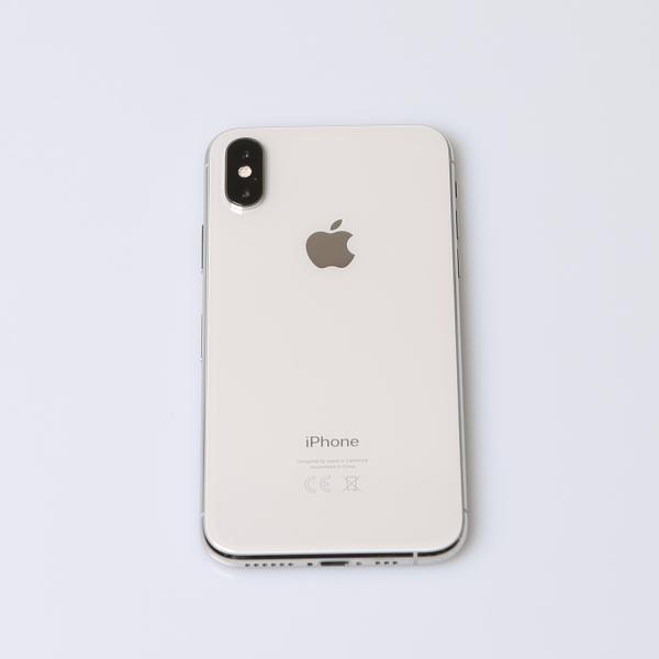 Komplettes Gehäuse für iPhone XS A2097 in Silber Grade A Front