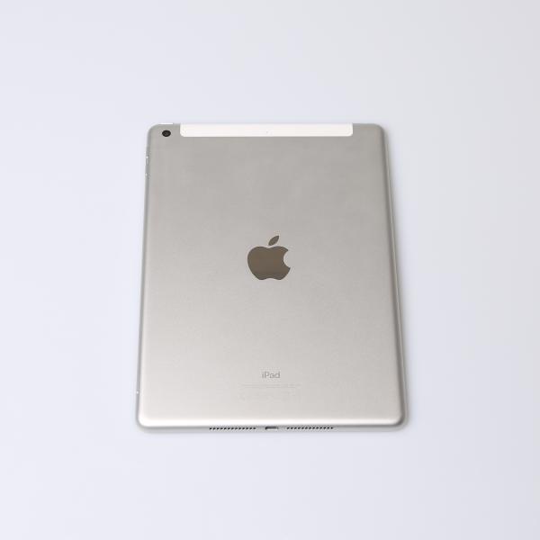 Komplettes Gehäuse für iPad 5 A1823 WiFi + Cellular in Silber Grade A Front
