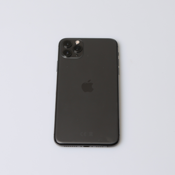 Komplettes Gehäuse für iPhone 11 Pro Max A2218 in Spacegrau Grade A Front