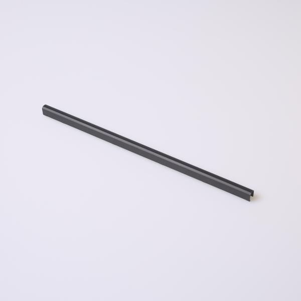 Schwarze Scharnierabdeckung für MacBook Pro 15 Zoll A1286 2008 - 2012 Grade A+ Front