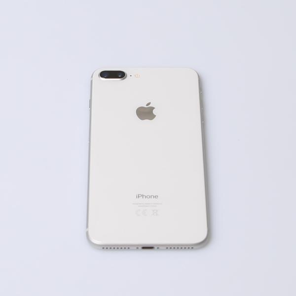 Komplettes Gehäuse für iPhone 8 Plus A1897 in Silber Grade A Front