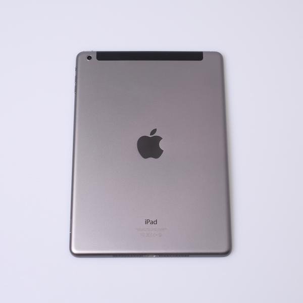 Komplettes Gehäuse für iPad Air A1475 WiF + Cellular in Spacegrau Grade A Front