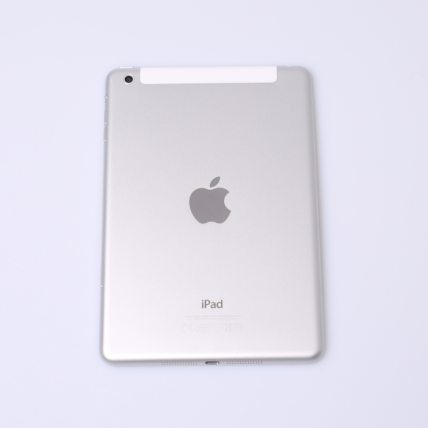 Komplettes Gehäuse für iPad Mini 1 A1455 WiFi + Cellular in Silber Grade A Front