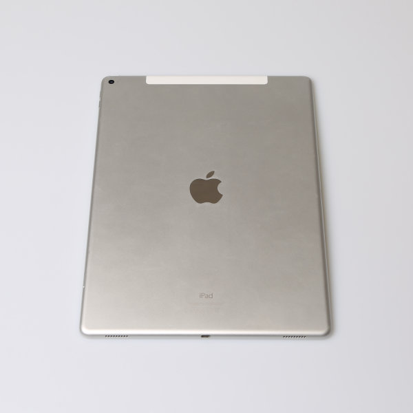 Komplettes Gehäuse für iPad Pro 12,9 Zoll A1652 WiFi + Cellular in Silber Grade C Front