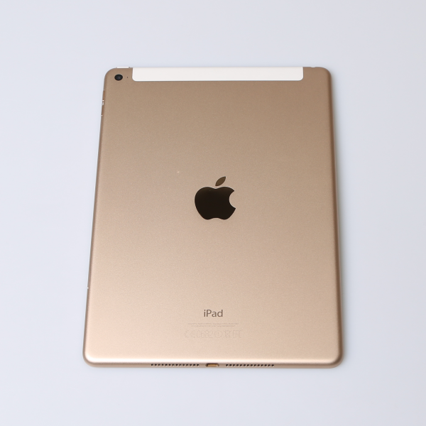 Komplettes Gehäuse für iPad Air 2 A1567 WiF + Cellular in Gold Grade A Front