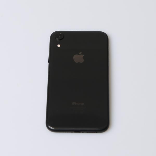 Komplettes Gehäuse für iPhone XR A2105 in Schwarz Grade A Front