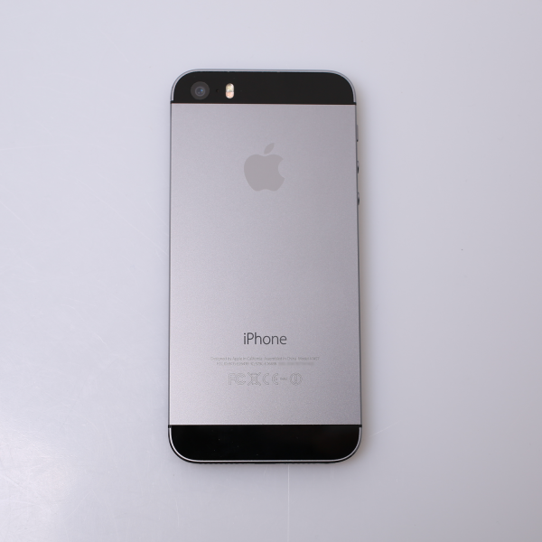 Komplettes Gehäuse für iPhone 5S A1457 in Spacegrau Grade A Front