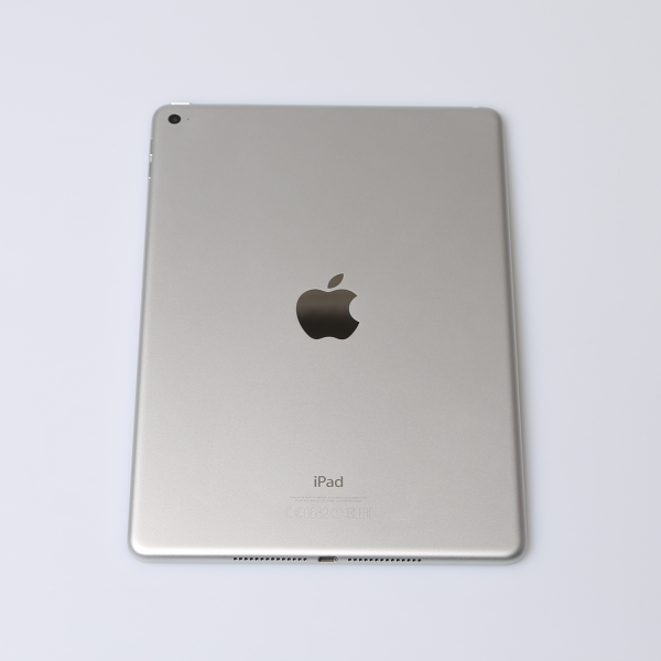 Komplettes Gehäuse für iPad Air 2 A1566 WiFi in Silber Grade B Front