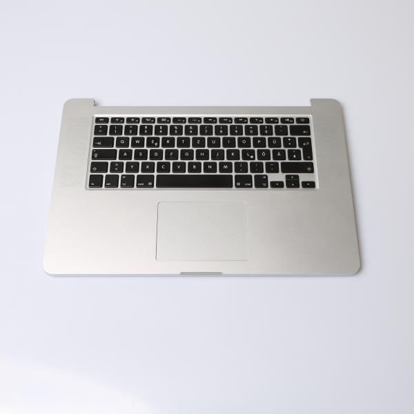 Komplettes TopCase mit Akku für MacBook Pro 15 Zoll Retina A1398 2015 Grade B Font