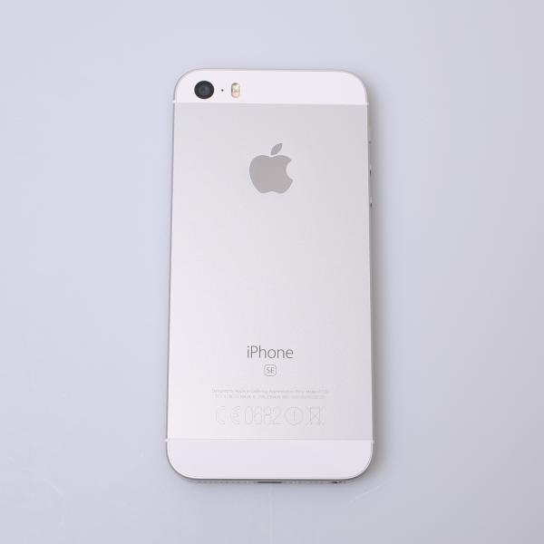 Komplettes Gehäuse für iPhone SE A1723 in Silber Grade B Front
