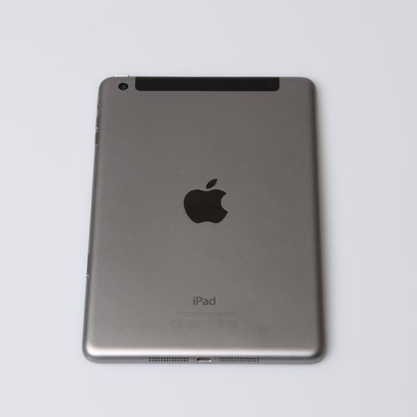 Komplettes Gehäuse für iPad Mini 3 A1600 WiFi + Cellular in Spacegrau Grade B Front