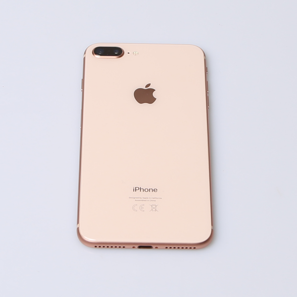 Komplettes Gehäuse für iPhone 8 Plus A1897 in Gold Grade B Front
