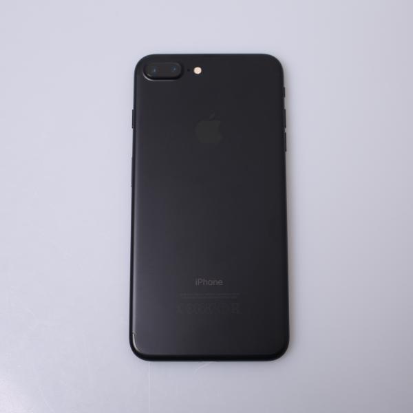 Komplettes Gehäuse für iPhone 7 Plus A1784 in Schwarz Grade C Front