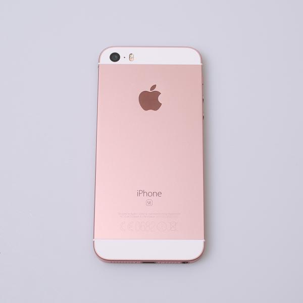 Komplettes Gehäuse für iPhone SE A1723 in Roségold Grade A Front
