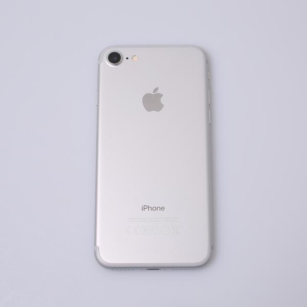 Komplettes Gehäuse für iPhone 7 A1778 in Silber Grade B Front